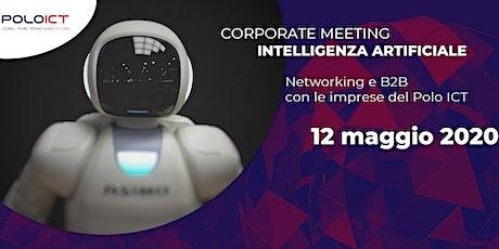 Corporate Meeting Intelligenza Artificiale biglietti