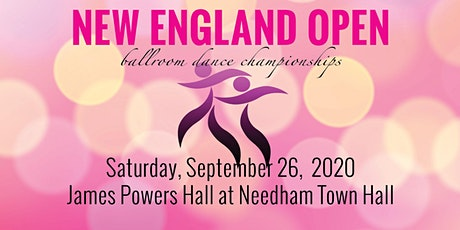 2020 New England Open - Ballroom Dance Championship billets