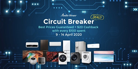 [6-day Circuit Breaker Deals] Enjoy Best Electronics Deals in Town tickets