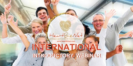 HeartBizNet  Introductory Webinar: Get Back Your Personal Finances on shape tickets