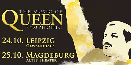 Queen Symphonic Tribute - 9.1.22 Magdeburg Tickets