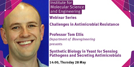Synthetic Biology in Yeast: Sensing Pathogens  and Secreting Antimicrobials tickets