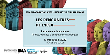 Les Rencontres de l'IESA - Patrimoine & Innovations billets