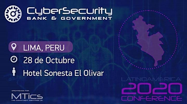 Imagen de Cybersecurity Bank & Government  Lima, Perú