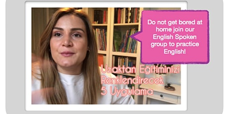 Free English Conversation Class with University ESL Instructor (Online) tickets