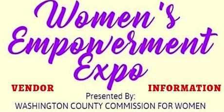 Women's Empowerment Expo - Vendor Registration tickets