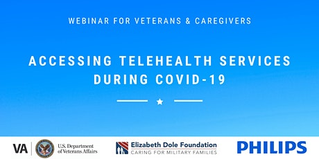 EDF Presents: Accessing VA Telehealth Services During the COVID-19 Crisis tickets