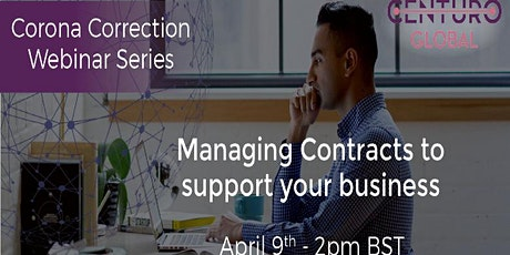 Corona Correction For Startups - Managing Contracts tickets
