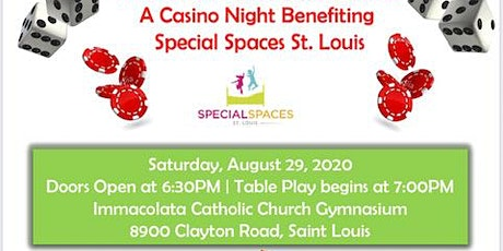 "4th Annual ""Rolling For Rooms"" - Casino Night benefiting Special Spaces STL tickets"