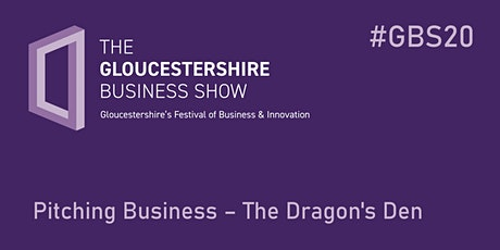 Pitching Business – The Dragon's Den tickets