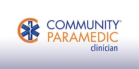 Community Paramedic Clinician Curriculum© (CPC) tickets