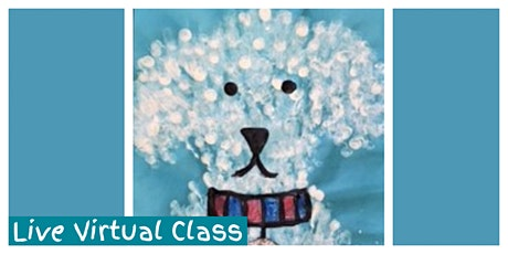 Paint Your Puppy Workshop (5-12 Years) - LIVE VIRTUAL CLASS! tickets