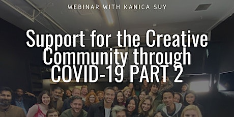 FREE Webinar to Support the Creative Community through COVID-19 tickets