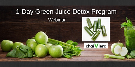 1-Day Green Juice Detox Program : Webinar tickets