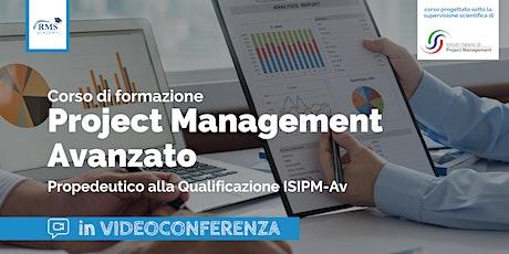 CORSO IN VIDEOCONFERENZA - Project Management Avanzato biglietti