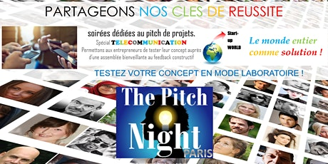 "Pitch Night Paris spécial ""Télécommunication"" tickets"