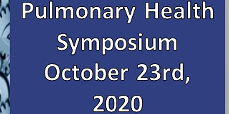 Pulmonary Health Symposium tickets