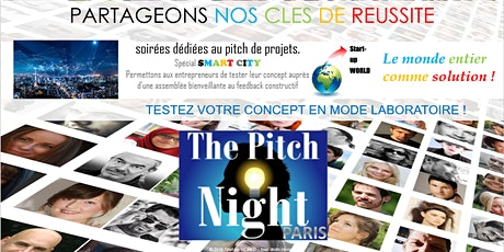 "Pitch Night Paris spécial ""Smart City"" billets"