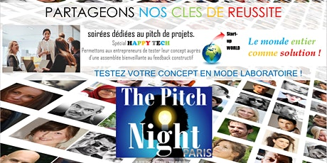 "Pitch Night Paris spécial ""Happy Tech"" billets"