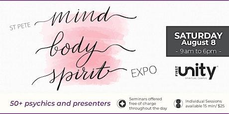St. Pete Mind, Body, Spirit Expo tickets