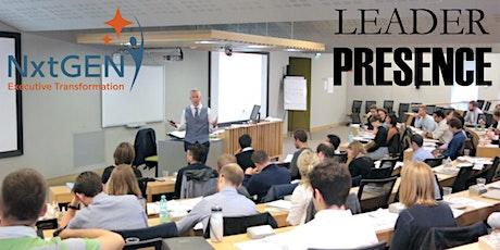 Leader Presence Virtual Training (8hrs) tickets