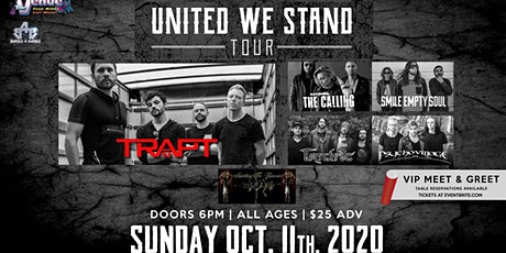 Trapt, The Calling, Tantric, Smile Empty Soul New date is 10/11 tickets