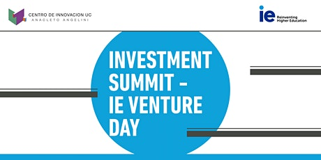 Investment Summit - IE Venture Day entradas