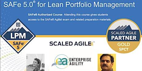 SAFe 5  Lean Portfolio Management  (LPM) - CST TZ tickets