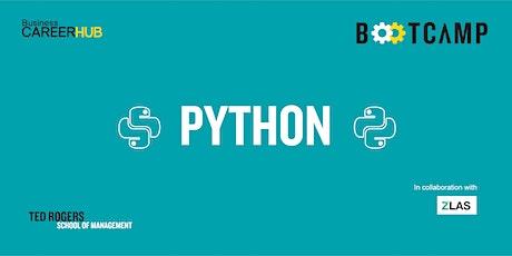 [VIRTUAL] Python Bootcamp: Level 2 tickets