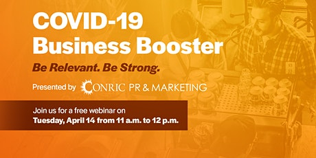 COVID-19 Business Booster tickets