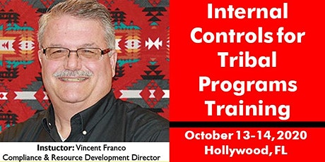 Internal Controls for Tribal Programs Training October 13-14, 2020 tickets