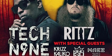 "NEW DATE:  Tech N9ne ""EnterFear Tour"" w/ Ritz tickets"