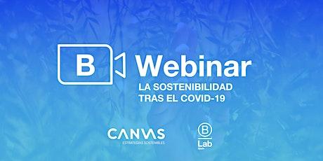 Webinar CANVAS Estrategias Sostenibles: La sostenibilidad tras el COVID-19 entradas