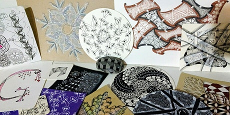 Tangle Time, Zentangle® Class tickets
