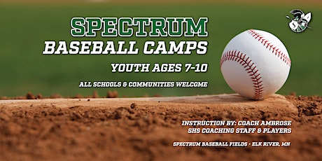 Youth Baseball Camp - Ages 7-10 tickets