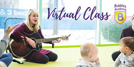 Virtual Class: Music - Babies & Toddlers tickets
