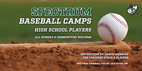 High School Baseball Camp - 9th-12th Grade tickets