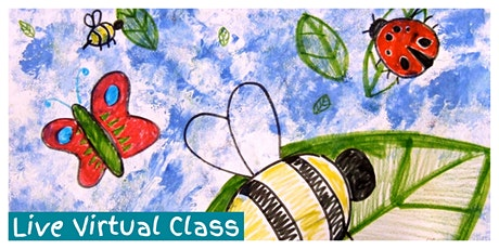 Beginning Drawing Weekly Class (5-12 Years) - LIVE VIRTUAL CLASS! tickets