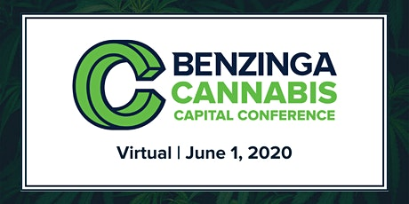 2020 Benzinga Virtual Cannabis Capital Conference tickets