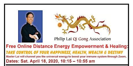 ONLINE FREE DISTANCE ENERGY EMPOWERMENT & HEALING  MEDITATION THROUGH ZOOM tickets