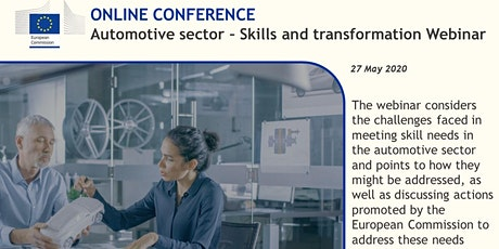 Automotive Sector - Skills and Transformation Webinar tickets