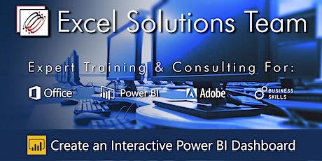 Power BI Desktop - Dashboard Reports in 3-Hours (Webinar) tickets