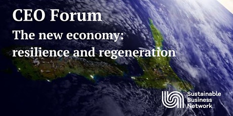 CEO Forum (special edition): The new economy: resilience and regeneration tickets