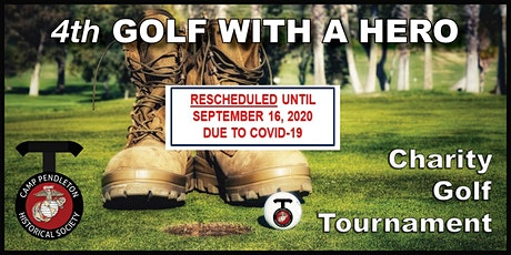 4th Golf With A Hero Charity Golf Tournament tickets