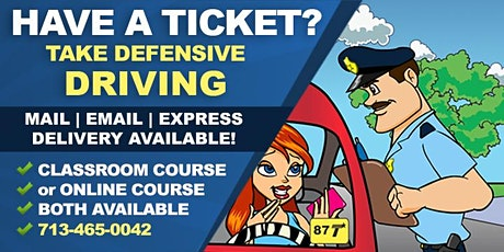 Comedy Driving Defensive Driving Course (League City) tickets