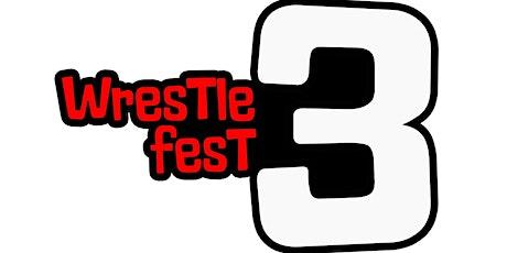 SWP & Gimmick  Tree WrestleFest 3 tickets