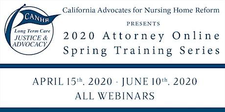 2020 Attorney Online Spring Training Series tickets
