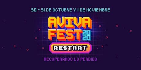 AvivaFest 2020 - RESTART - Recuperando lo perdido boletos