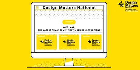Webinar: The Latest Advancements in Timber Construction tickets