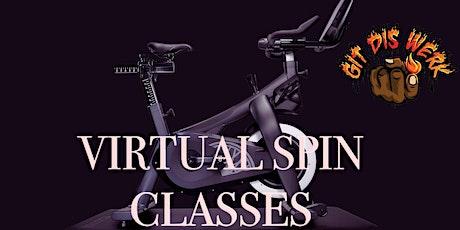 GITDISWERK Virtual Gospel Spin Class - Spirit in the Saddle  Cycling Sunday tickets